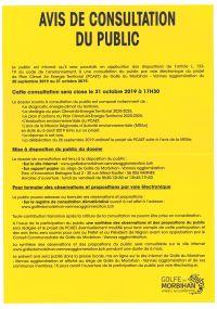 Avis de consultation du public du Plan Climat Air Energie Territorial de GMVA